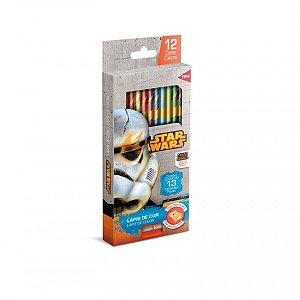 Lápis de Cor Star Wars 12 Cores - R$ 19,90