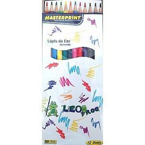 Lápis de Cor inteiro c/12 und
