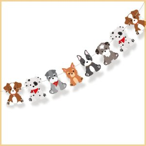 Faixa Decorativa Cachorrinhos