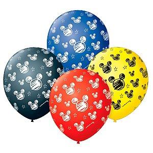Balão Mickey | 4 unidades