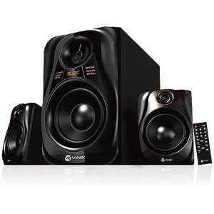 CAIXA SOM SUBWOOFER ( 20W)(PRETO)(USB/SD/FM)(VINIK)(24238)