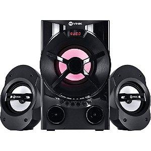 CAIXA SOM SUBWOOFER ( 28W)(PRETO)(USB/SD/FM)(VINIK)(24239)