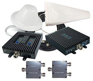 Projeto e Implantação de Repetidores, Amplificadores e Reforçadores de sinal Celular & WiFi