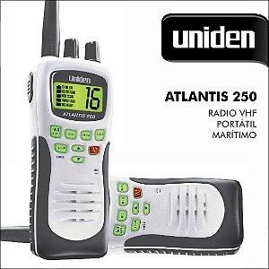Rádio VHF marítimo Uniden Atlantis 250