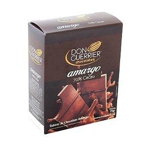 Tablete de Chocolate 70% Cacau - Caixa com 3 unidades