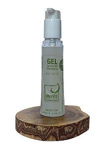 Gel Lavanda e Melaleuca uNeVie álcool 70% (°GL) 120ml com válvula pump