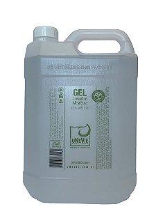 Gel Lavanda e Melaleuca uNeVie - Refil - álcool 70% (°GL) com 5 litros