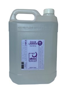 Água de Lavanda - Refil 5 litros - Álcool 70%(°GL)
