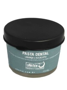 Pasta Dental Laranja e Eucalipto uNeVie