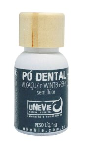 Pó Dental Alcaçuz e Wintergreen uNeVie