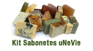 Kit Sabonetes Naturais e Vegetais uNeVie