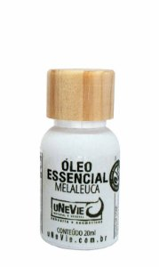 Óleo essencial Melaleuca 20ml uNeVie