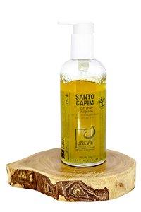 Sabonete Gel Castille para Banho Santo Capim uNeVie *no vidro