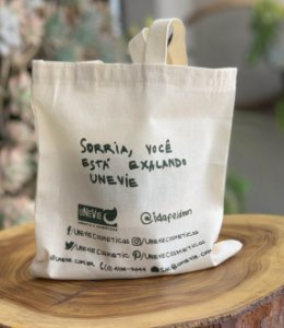 Mini Eco Bag Edição Limitada Festas uNeVie