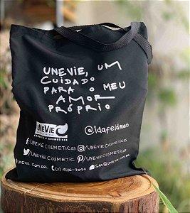 Eco Bag Noir Edição Limitada Festas uNeVie