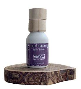 Desodorante Natural Roll On Gerânio e Lavanda uNeVie