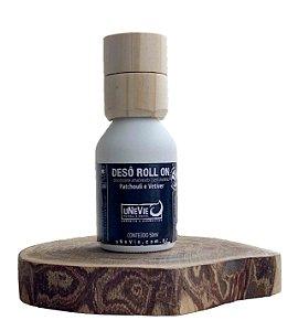 Desodorante Natural Roll On Patchouli e Vetiver uNeVie