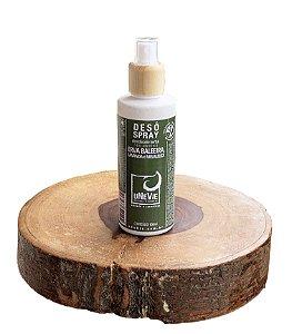Desodorante Natural Spray Erva Baleeira, Lavanda e Melaleuca uNeVie