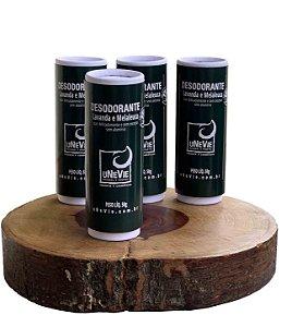 Desodorante Natural Lavanda e Melaleuca uNeVie      * PRÉ-VENDA SÓ PAPEL *