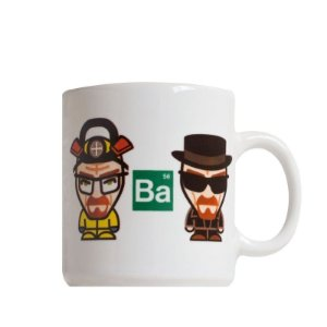 CANECA CARTOON BREAKING BAD