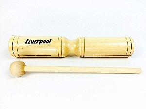Liverpool Agogo de Madeira Duplo com Baqueta AM234