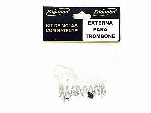 Paganini Kit De Molas Para Trombone PMS083 Pistos Externa
