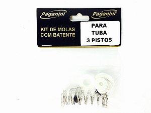 Paganini Kit De Molas Para Bombardino 3 Pistos PMS084