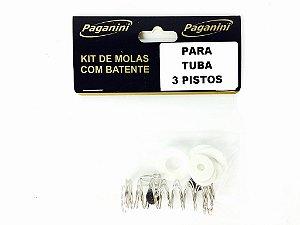 Paganini Kit De Molas Tuba 3 Pistos PMS086