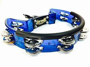Torelli Pandeirola Meia Lua com Clamp Azul TP323AZ