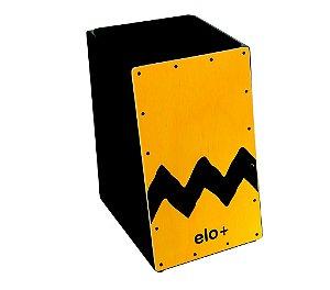 Cajón Percussion Elo+ EM113 Acústico Inclinado