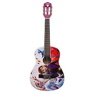 PHX Violão Infantil Rosa de Nylon Disney Frozen 2 VIF-3