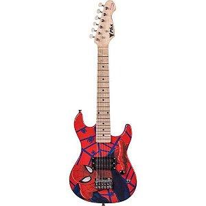 PHX Guitarra Infantil Vermelha Marvel Spider Man GMS-K1