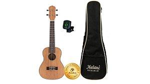 Kit Kalani Ukulele Concerto 24 Kal C/ Bag + Afinador 320CM