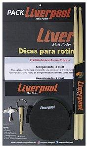 Liverpool Pack De Treinamento Para Baterista LIVERPACK