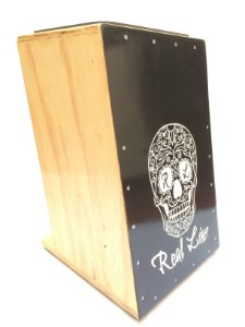 Real Line Cajón Inclinado Com 1 Captação Mod Caveira Rl02at