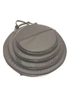 Bag Super Luxo Pratos de Bateria 14 16 18 20 Polegadas - B4C