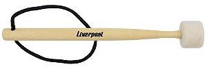 Liverpool Maçaneta Para Bumbo com Cabeça de Feltro MC50