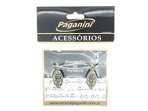 Paganini Prendedor Partitura e Hinário Clipets Jesus PPT073