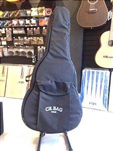 Cr Bag Para Violão Folk Capa Acolchoada Alta Qualidade CRBF