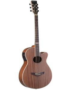 Tagima Violao Aço Dallas Tuner Natural Mahogany Dallas-t