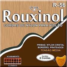 Rouxinol Encordoamento Violão Nylon T. Média R-56