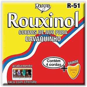Rouxinol Encordoamento Cavaquinho Chenille R-51