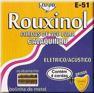 Rouxinol Encordoamento Cavaquinho com Bolinha E-51