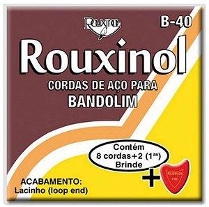 Rouxinol Encordoamento Bandolin Lacinho B-40
