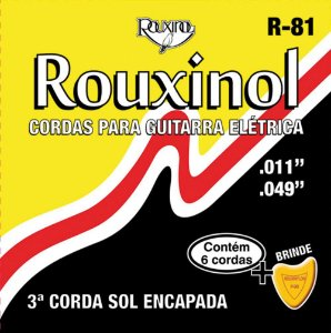 Rouxinol Encordoamento Guitarra 011 R-81