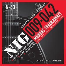 Nig Encordoamento Guitarra 009 N-63
