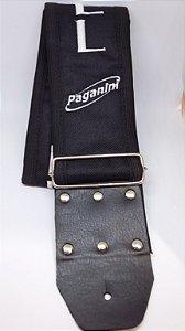 Paganini Correia Náilon 70mm 600 Peixe MPC-643 (Preta)