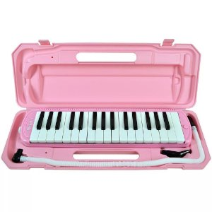 Dolphin Escaleta 32 Teclas Com Case Pink 9698