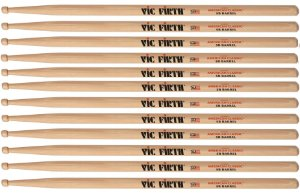 Vic Firth Kit 6 Baquetas American Classic 5a Ponta Mad 1262
