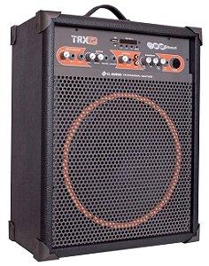 LL Audio Caixa Amplificada Multiuso TRX12 55W Bluetooth Usb Rádio Fm